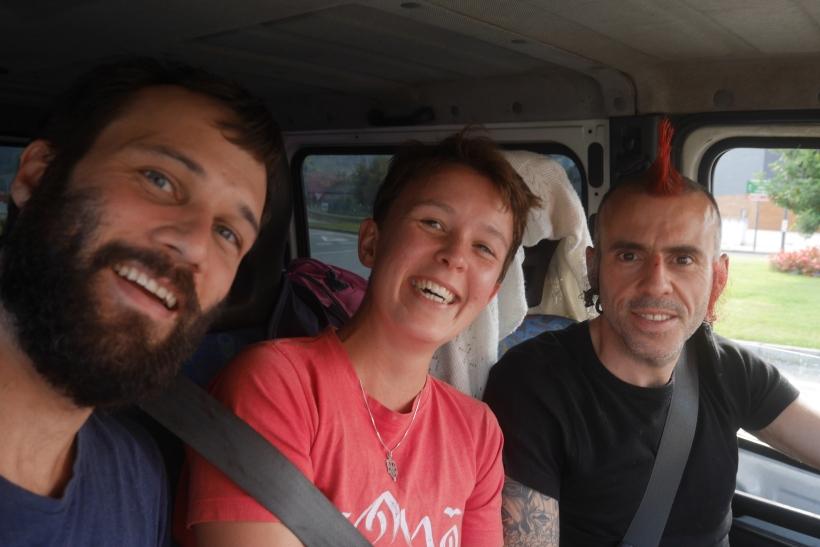 Sarah Hunt, Hitchhiking, San Sebastian, Northern Spain